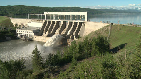 Ghost Hydro Electric Dam 03 Live Action