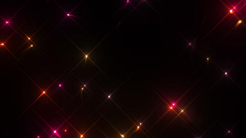 Glow Particles 4 B 1 H 4k stock footage