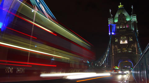 London ,England-circa 2014: Rush hour in London, v Footage