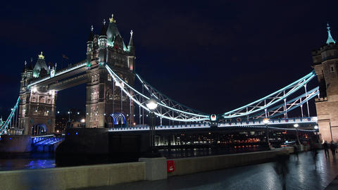 London ,England-circa 2014: Rush hour in London, v Footage