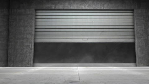 Door Transition stock footage