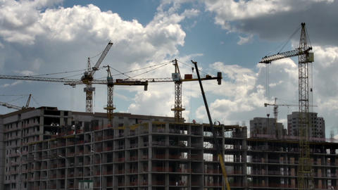 Building Apartment Buildings stock footage