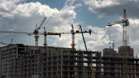 Building Apartment Buildings Footage