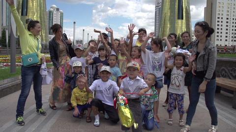 Joyous Kazakhs Footage