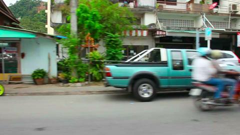 Street of Phuket Footage