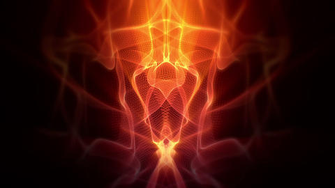 Abstract flames Animation
