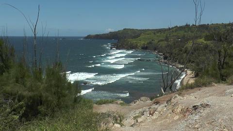 Honolua Bay on Maui Island,Hawaii Footage