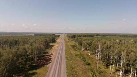 Road Aerial View. 0