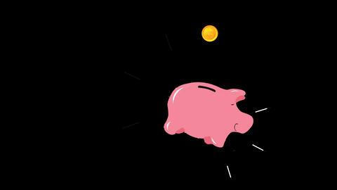 piggy bank animation alpha Animation