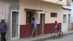 Small Private Business In Cuba stock footage