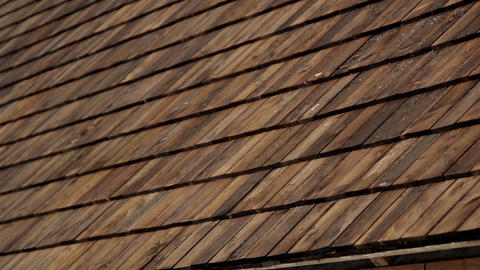 Cedar wooden shingles roof roofing roofworking tar Live Action