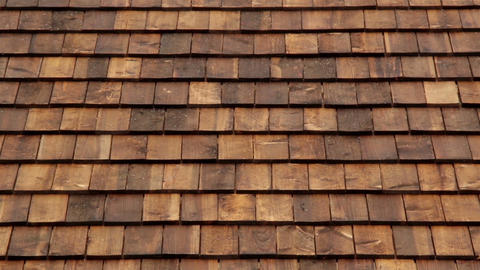 Zoomed Cedar wooden shingles roof roofing roofer Live Action