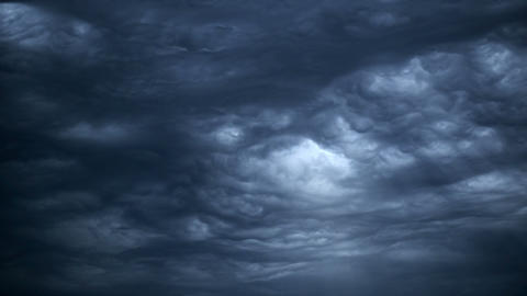 Epic Storm Clouds 11495 stock footage