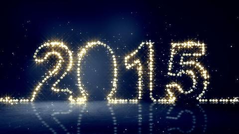 2015 greeting christmas lights loopable Animation