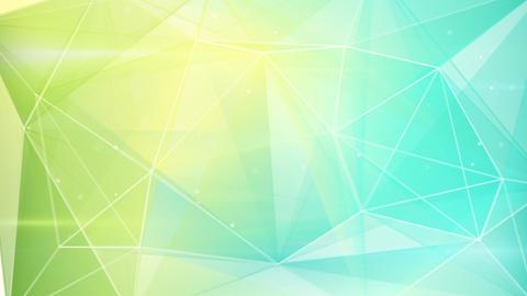 abstract triangle geometrical green cyan backgroun Animation
