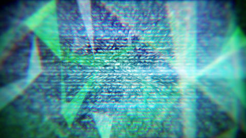 glitch techno background seamless loop Animation