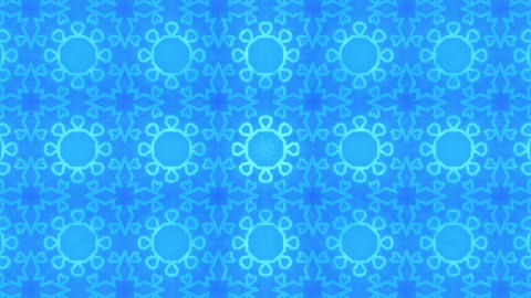 Wonderful Kaleidoscopic Background Loop HD 19 CG動画