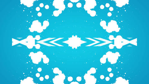 Wonderful Kaleidoscopic Background Loop HD 23, CG動画素材