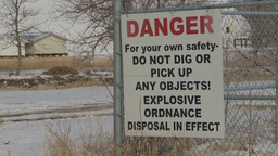 HD2009-3-2-17 danger sign ordinance Stock Video Footage