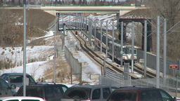 HD2009-3-2-23 LRT train fish creek Footage