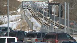 HD2009-3-2-25 LRT train fish creek Footage