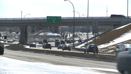 HD2009-3-2-29 traffic on Mcleod trail Footage