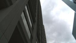 HD2009-5-1-5 skycraper spin Stock Video Footage
