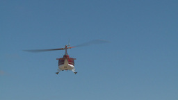 HD2009-5-1-17 huey hover empty sky ofset Stock Video Footage