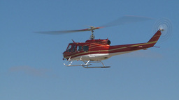 HD2009-5-1-21 huey hover empty sky Stock Video Footage