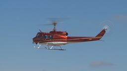 HD2009-5-1-21 huey hover empty sky Stock Video Footage