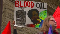 HD2009-5-1-23 Conda protest Stock Video Footage