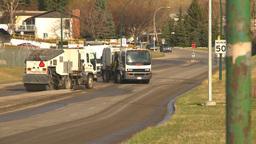 HD2009-5-2-11 street sweepers Footage