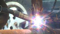 HD2009-5-2-22 welding Stock Video Footage