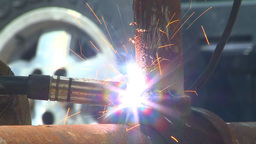 HD2009-5-2-22 welding Stock Video Footage