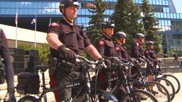 HD2009-5-6-1 bike cops Footage