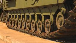 HD2009-5-6-5 churchill tank Stock Video Footage