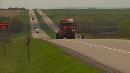 HD2009-5-6-19 TN truck Stock Video Footage