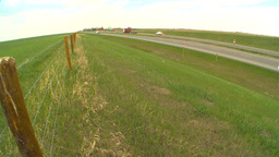 HD2009-5-6-21 highway traffic TN truck Stock Video Footage