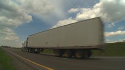 HD2009-5-6-25 TN truck Stock Video Footage