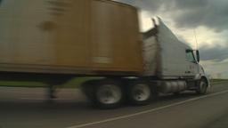 HD2009-5-6-27 TN truck Stock Video Footage