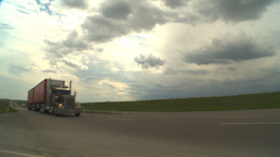 HD2009-5-6-29 TN truck Stock Video Footage