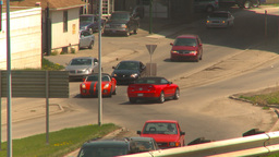 HD2009-5-7-21 traffic intersection Stock Video Footage
