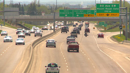 HD2009-5-7-25 freeway traffic Footage