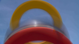 HD2009-5-10-3 abstract rings Stock Video Footage