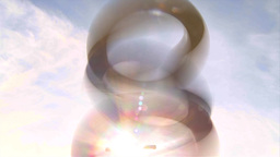 HD2009-5-10-5 abstract rings Stock Video Footage