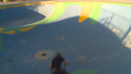 HD2009-5-10-19 BMX skateboard park Stock Video Footage