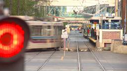 HD2009-5-10-25 LRT head on LL hispd Stock Video Footage