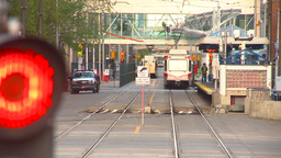 HD2009-5-10-25 LRT head on LL hispd Stock Video Footage