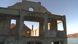 HD2009-11-1-10 Alcatraz ruins Stock Video Footage