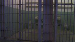 HD2009-11-1-22 Alcatraz prison cell track Footage
